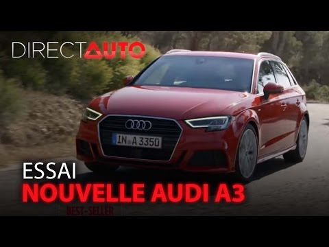 Essai - NOUVELLE AUDI A3 : Le best-seller