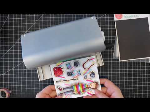 Two Minute Tip - Creating Stickers with Die Cuts & Xyron