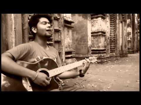 Abir performing amaro porano jaha chay