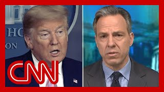 Jake Tapper to Trump: This requires a plan. Do you have one?