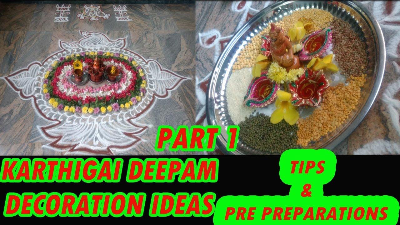 karthigai deepam decoration ideas   கார்த்திகை தீபம் ...