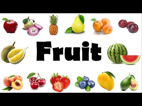 Từ Vựng Tiếng Anh Trái Cây, Hoa Quả/ Fruits Name in English/ English Online (New)