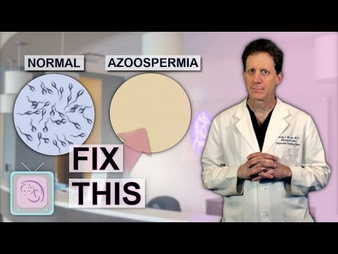 Azoospermia Male infertility due to no sperm How to get pregnant