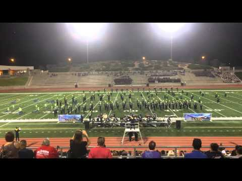 Eastwood High School Trooper Marching Band UIL 2014