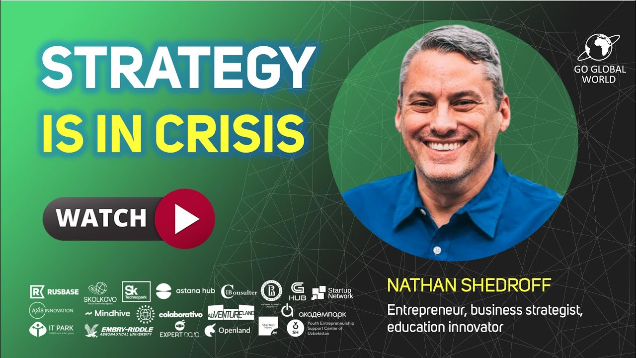 [Webinar] Strategy is in Crisis by Nathan Shedroff