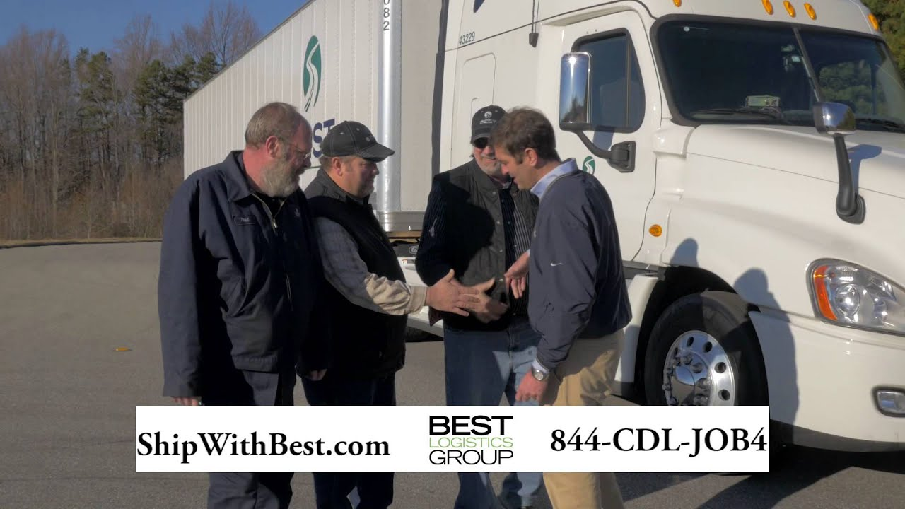 Best Logistics Group Trucking Commercial - YouTube