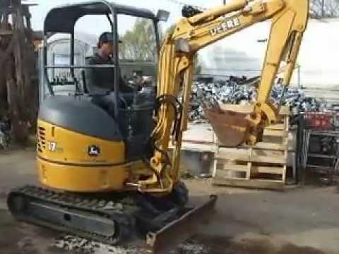 john deere 17zts mini excavator for sale youtube rh youtube com john deere 27c service manual john deere 27c zts owners manual