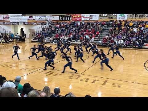 Cyprus High School Spinnakers Military 12-1-2018