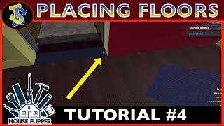 House Flipper Tutorial | How To Place Down Flooring | #TipsTricks #HouseFlipperTutorials