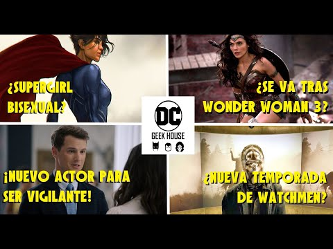 Download #DCNEWS ¿SUPERGIRL BISEXUAL? ¿GAL SE VA TRAS WONDER WOMAN 3? CAMBIO DE ACTOR EN PEACEMAKER, WATCHMEN