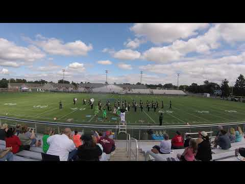 2018 Caravel Academy Marching Buccaneers at Middletown Competition