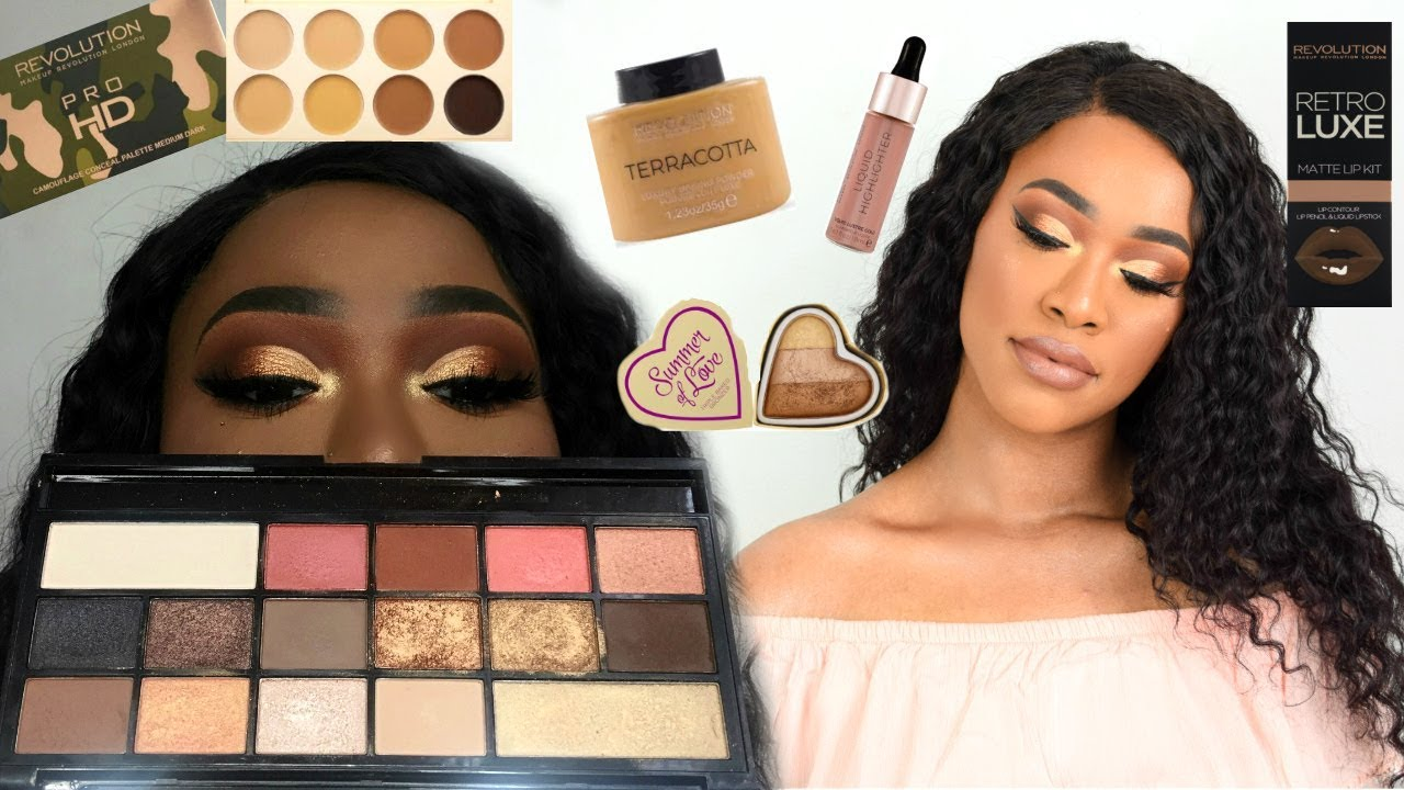 Makeup revolution face quad