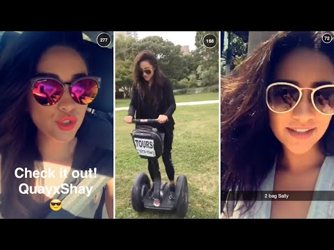Shay Mitchell | Snapchat Videos Compilation (August 2015) (featuring Britney Spears & Ashley Benson)
