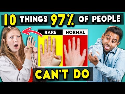 Adults Try 10 Things 97% Of People Can't Do | The 10s