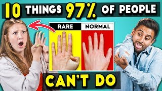 Download Adults Try 10 Things 97% Of People Can't Do | The 10s Mp3 and Videos