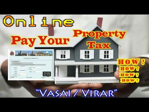 Property Tax Online Payment:How To Pay House Tax In India Maharashtra Mumbai Vasai Virar.