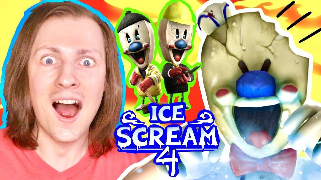 Download ICE SCREAM 4 : LE NOUVEAU CHAPITRE DU GLACIER PSYCHOPATHE EST ENFIN LÀ ! Gaming Délires de Max