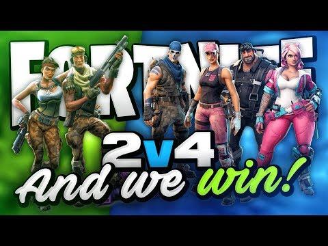 2 VS 4 FINALE! (Fortnite Battle Royale)