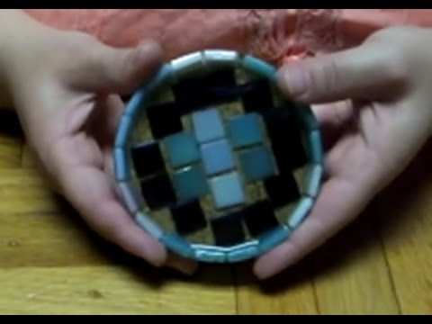 Making a Resin and Glass Tile Coaster