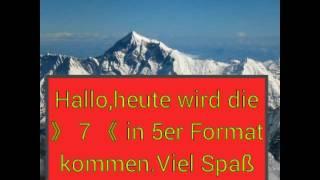 Die 7 (5) höchsten Berge der welt.