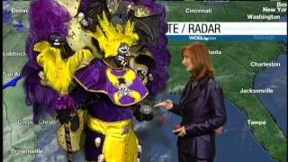 Zulu Witch Doctor Creates Magical Forecast With Margaret