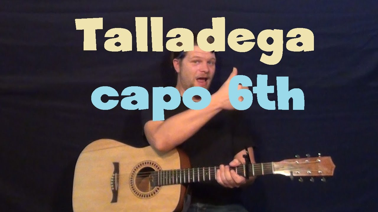 how to play talladega on guitar