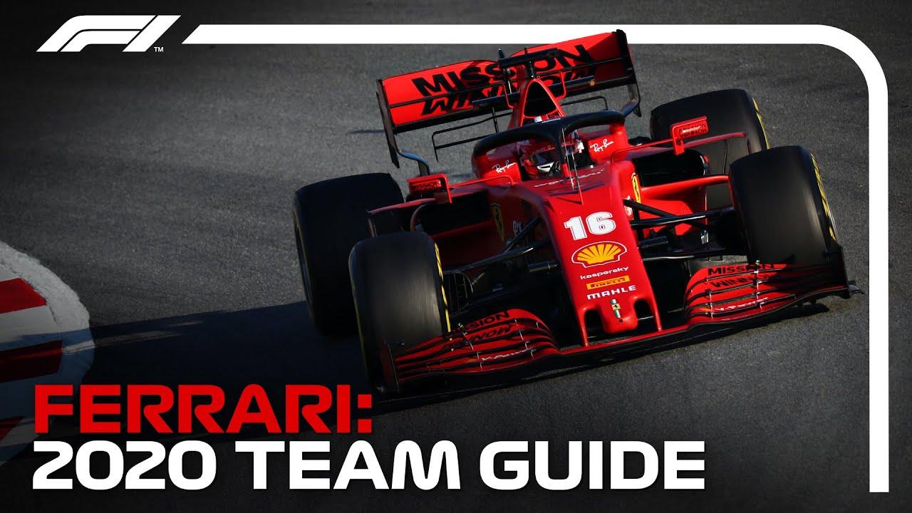 Scuderia Ferrari 2020 Formula 1 Team Guide Youtube
