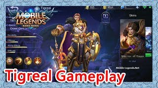 Tigreal Gameplay|Brawl Mode|【Mobile Legends】