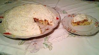 куриный салат торт