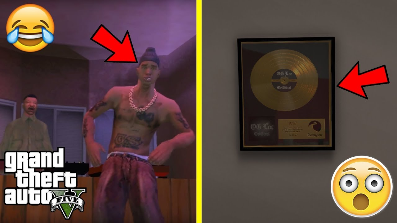 0a04e624e32 GTA 5 - What Happens to OG LOC AFTER The Events of GTA San Andreas (awesome  easter egg)