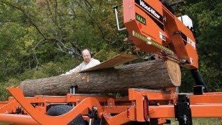 Wood-mizer Lt35 Hydraulic Portable Sawmill: Hydraulic Log Handling For Less