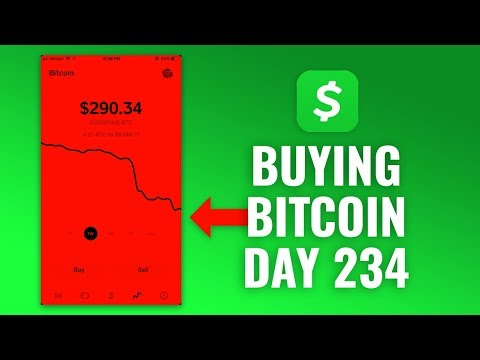 Buying $1 Bitcoin Every Day With Cash App - DAY 234