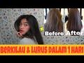 DIY HAIR MASK - RAMBUT BERKILAU DALAM 1 HARI | Indira Kalistha