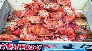 street food japan- grilled lobster いせえび 伊勢海老