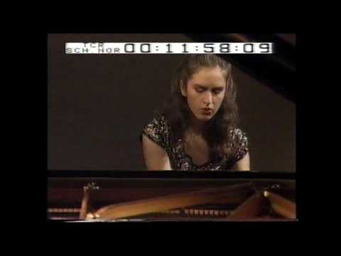 J.Brahms: Variations on a Theme of Paganini-Part 1 GLORIA D'ATRI (Aged 16)