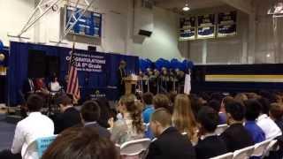 Robbie's graduation address