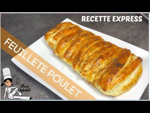 feuilleté-au-poulet-/-recette-express