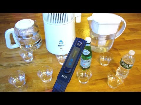 Megahome Water Distiller | Water Test Results and Quality Comparison