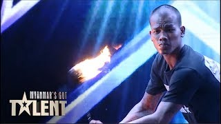 Ko Phyo: Auditions | Myanmar's Got Talent 2019