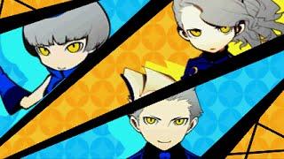 Persona Q - Extra Boss: Velvet Siblings (P4 MC Solo / Risky Mode)