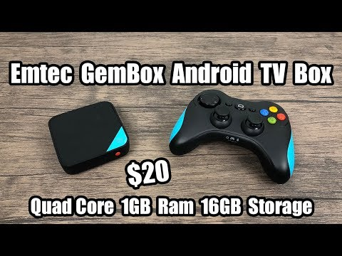 EMTEC GEM BOX Android TV Gaming Box