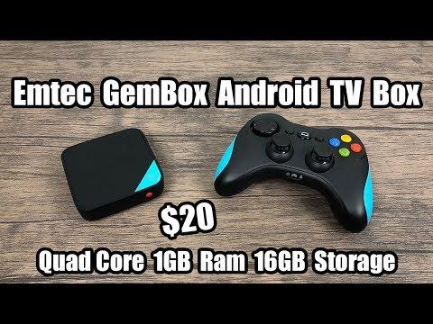 EMTEC GEM BOX Android TV Gaming Box