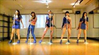 Repeat youtube video KARA STEP dance cover by Coen Sisters