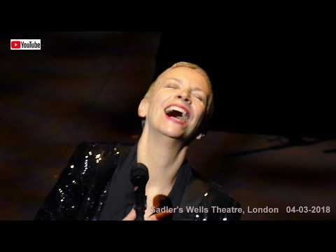 Annie Lennox live - There Must Be An Angel (4K), Sadler's Wells Theatre, London 04-03-2018
