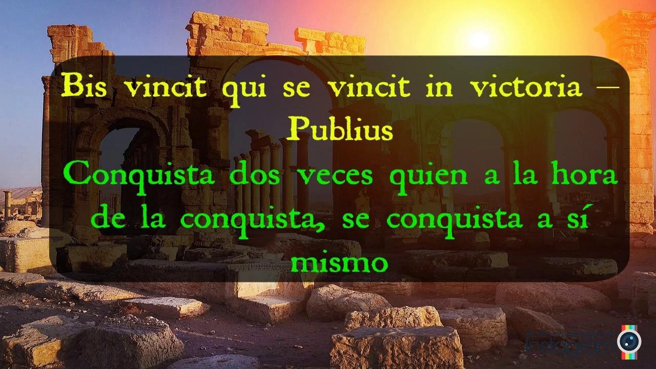 dichos en latin