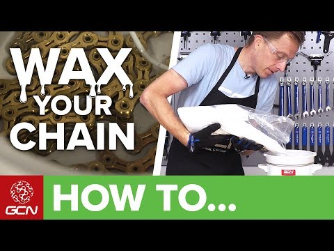 How To Wax A Bicycle Chain | Maintenance Monday