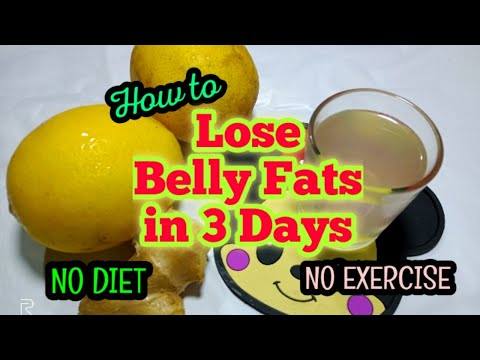 how-to-lose-belly-fat-in-3-days-super-fast!-no-diet-no-exercise