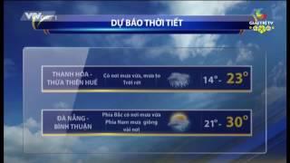 Dự Báo Thời tiết ---- 2017 01 26  ----- VTVCab1 GiaiTriTV