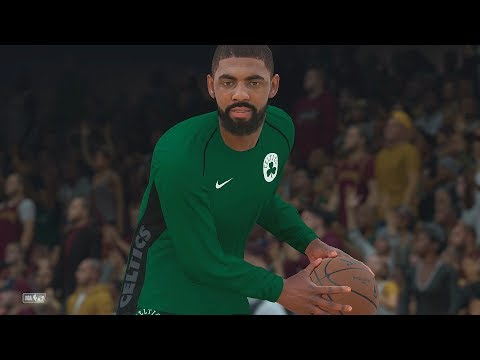 NBA 2k18 -  Cleveland Cavaliers vs Boston Celtics | Lebron vs Kyrie ! (PS4 Pro) (1080p 60fps)
