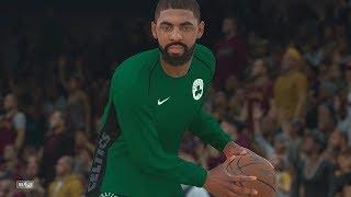 NBA 2k18 -  Cleveland Cavaliers vs Boston Celtics | Lebron vs Kyrie ! (PS4 Pro) (1080p 60fps)
